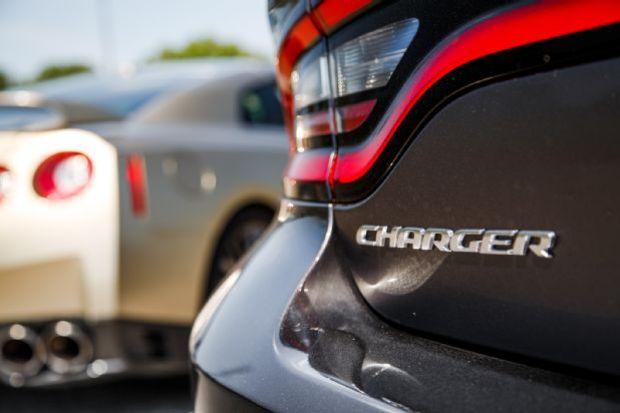 2015 Dodge Charger SRT Hellcat Badge 03