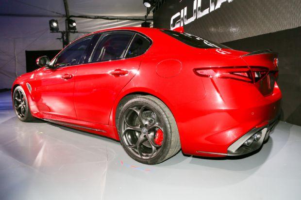 Alfa Romeo Giulia Rear Three Quarter