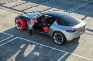 Opel GT Concept Previews Performance of the Future
