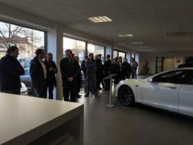Tesla Model 3 orders start as buyers wait in line outside stores