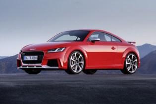 New Audi TT RS storms into 2016 Beijing Auto Show