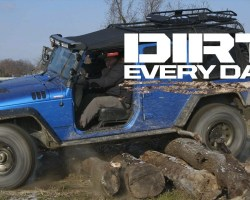 Urban Wheeling at the Toledo Jeep Factory – Dirt Every Day Ep. 60