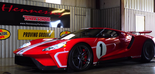 Ford Gt Heritage Edition On The Dyno