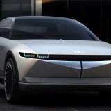 2021 Hyundai 45 EV spy shots
