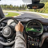 Electric Mini Cooper SE laps the 'Ring without engaging the brakes