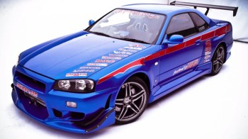 "Brian's Nissan Skyline R34 GT-R was almost a Dodge Neon SRT-4 in ""2 Fast 2 Furious"""