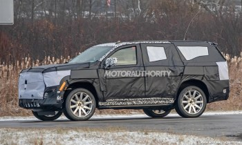 Face of 2021 Cadillac Escalade shown in latest teaser