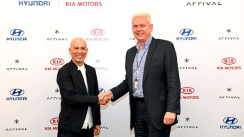 Hyundai and Kia invest in UK electric commercial-vehicle maker Arrival
