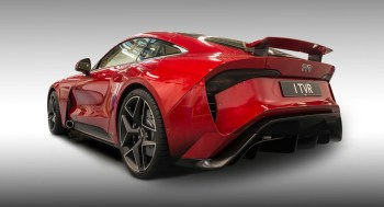 TVR Griffith sports car delayed until 2022