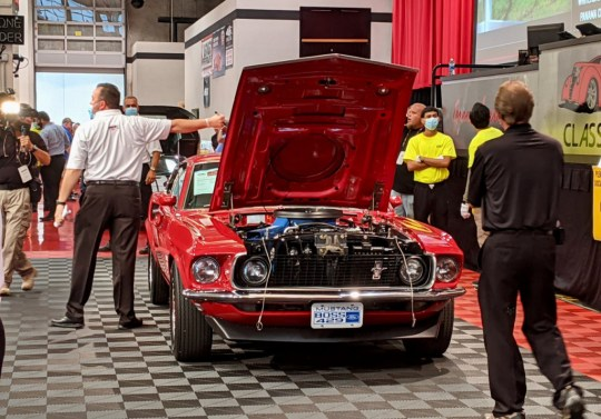 The last Pontiac Fiero GT sold for $90,000 at auction