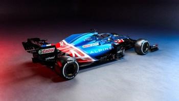 Alfa Romeo, Alpine, McLaren and Mercedes-Benz AMG show 2021 Formula One cars
