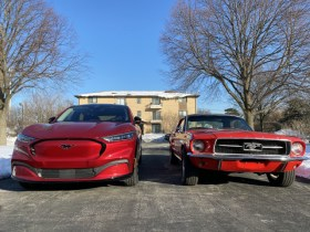 2021 Ford Mustang Mach-E vs. 1967 Ford Mustang: Compare Eras