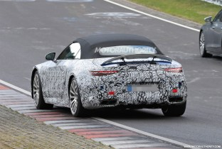 2022 Mercedes-Benz AMG SL Roadster spy shots: Redesigning an icon