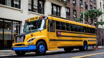 Lion plans to make electric school buses and HD trucks in Illinois, largest such plant in the US