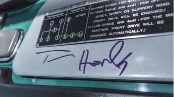 Tom Hanks' 1980 Toyota FJ40 Land Cruiser heads to auction