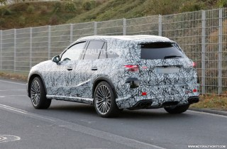 2023 Mercedes-Benz AMG GLC 53 spy shots: New performance crossover in the works