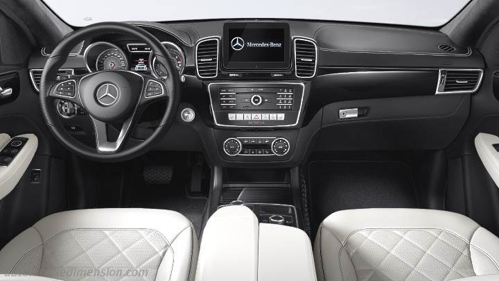 Mercedes Benz GLE Coup 2015 Dimensions Boot Space And