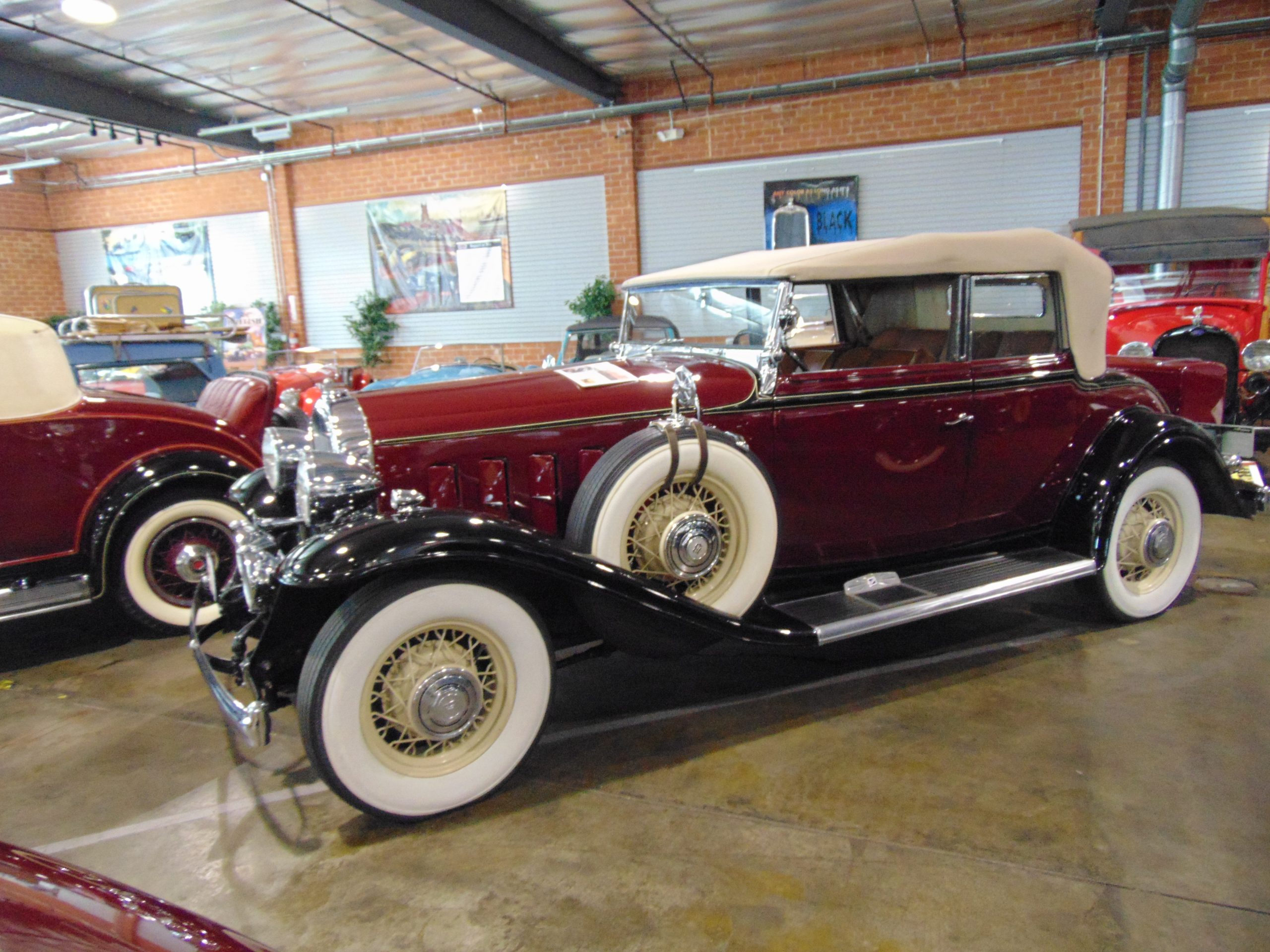 1932 Buick Victoria Convertible for rent