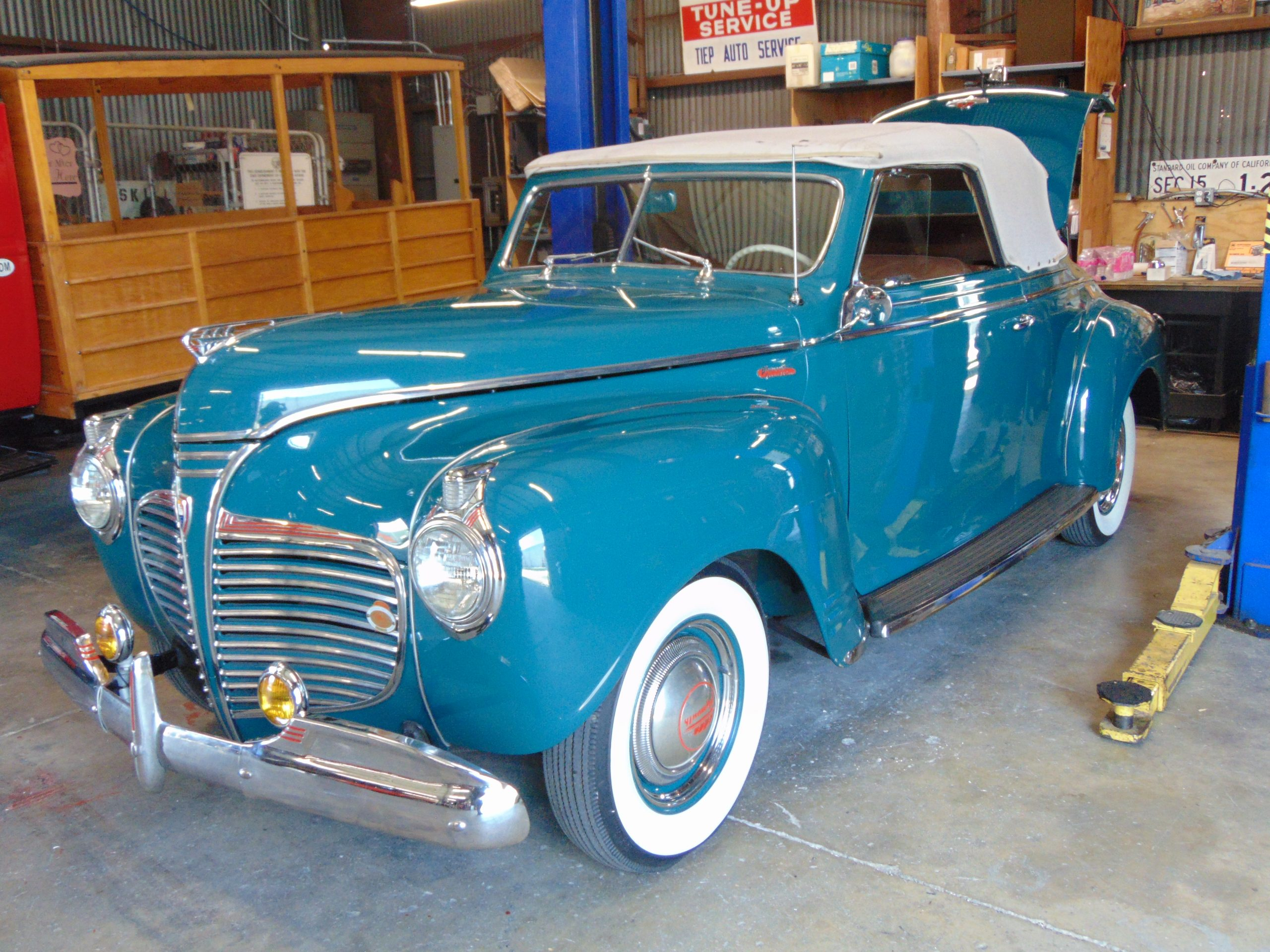 1941 Plymouth Convertible for rent