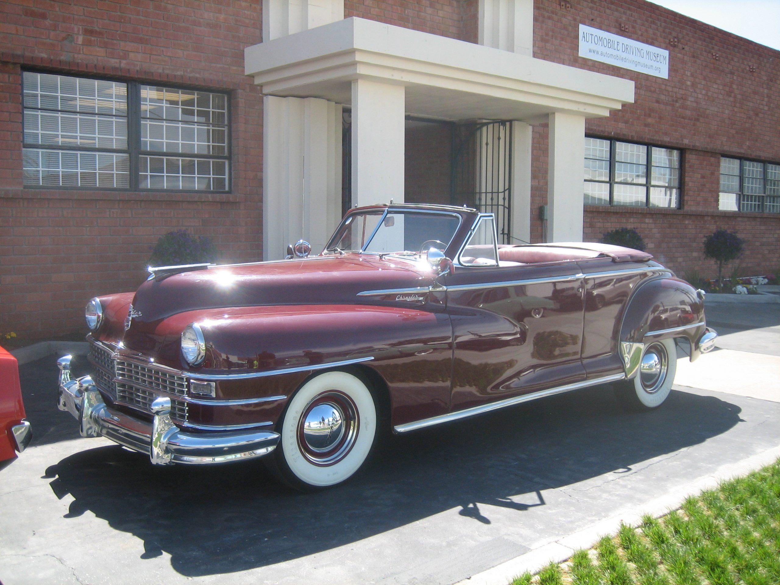 1947 Chrysler Windsor for rent