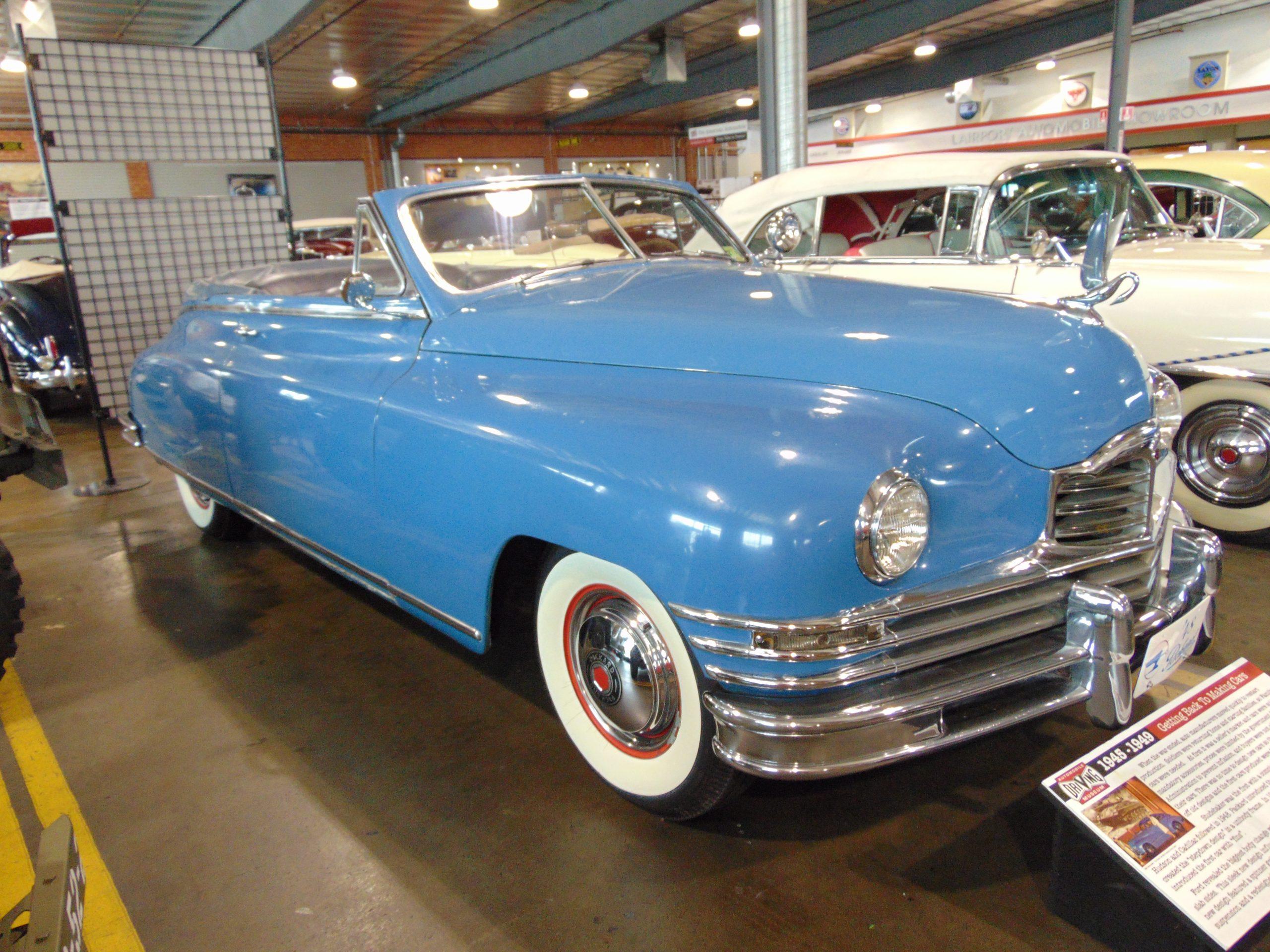 1948 Packard Convertible for rent