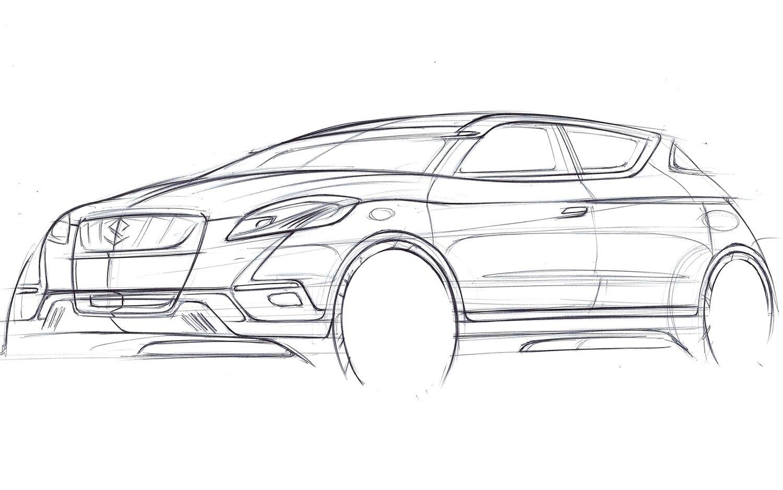 Suzuki Will Debut C Segment S Cross Crossover Concept At