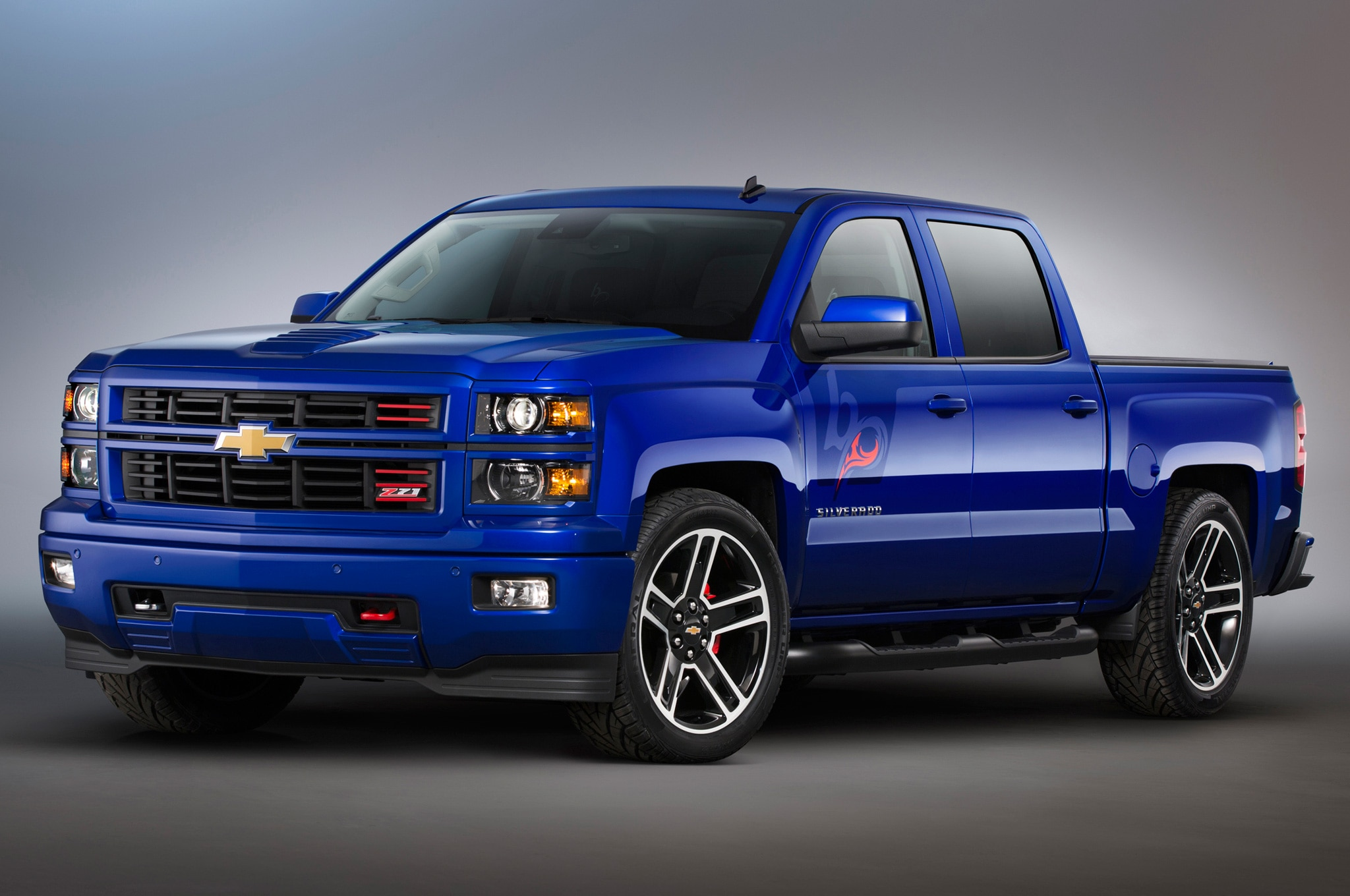 sema 2013 chevrolet rolls out