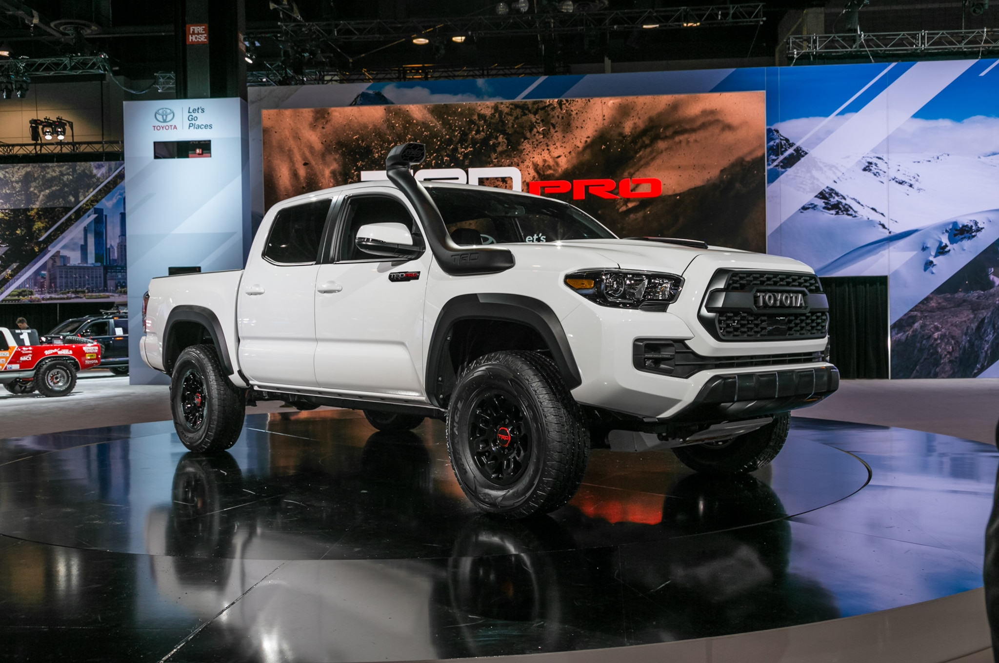 toyota trd pro lineup gets foxy for 2019