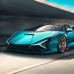 2021 Lamborghini Sian Roadster 819 Hp 217 Mph All Sold Out