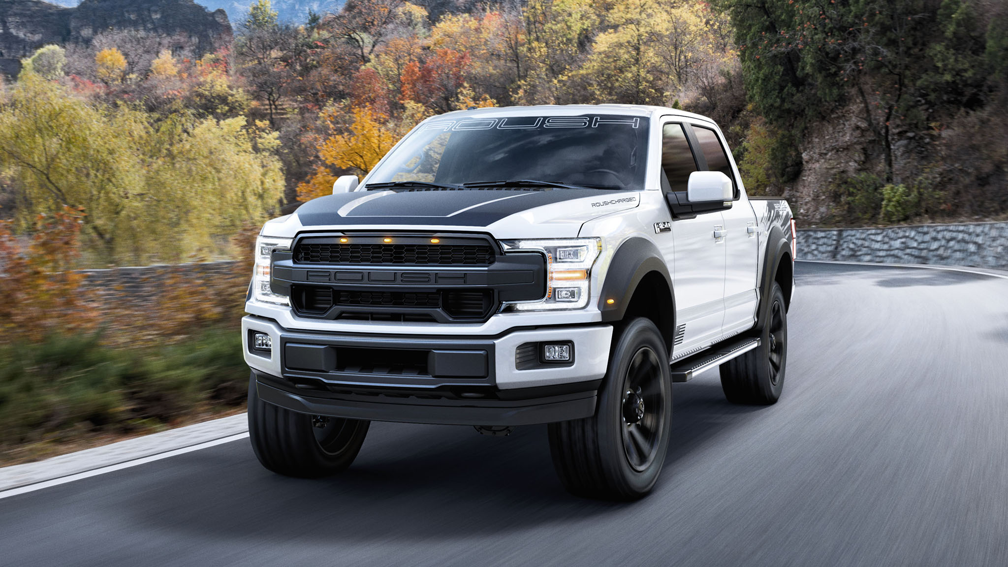 need a 650 hp ford f 150 roush has two options for 2019