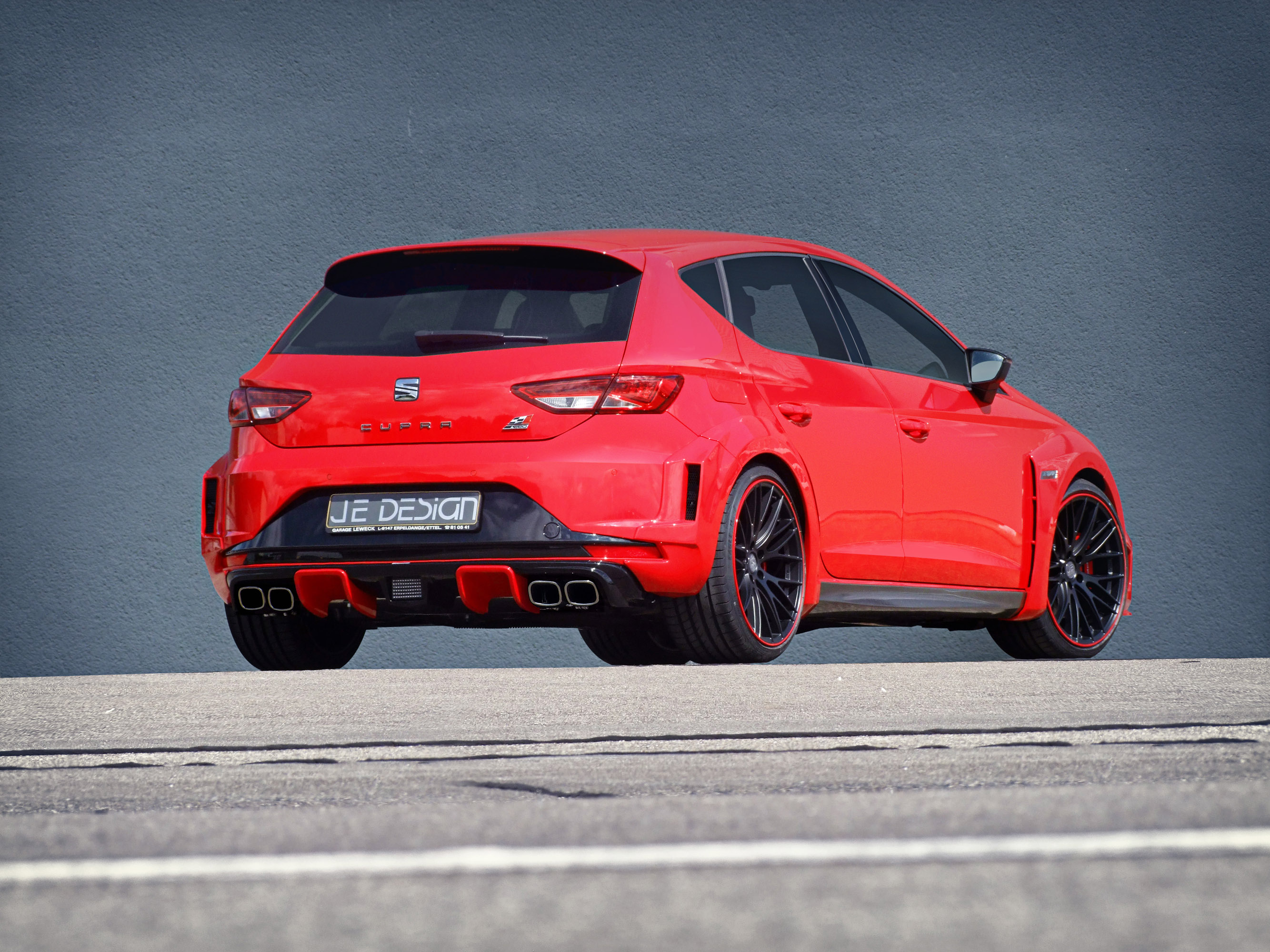 JE Design Presents Their Widebody Kit For The Seat Leon Cupra