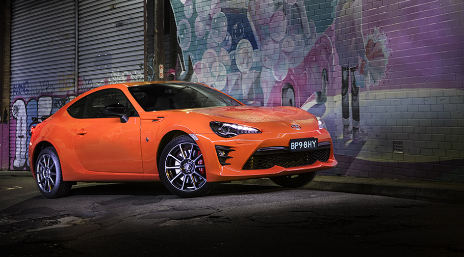 Toyota Showcase A Limited Edition Of The 86 Coupe