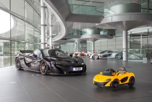 mclaren p1 pure electric