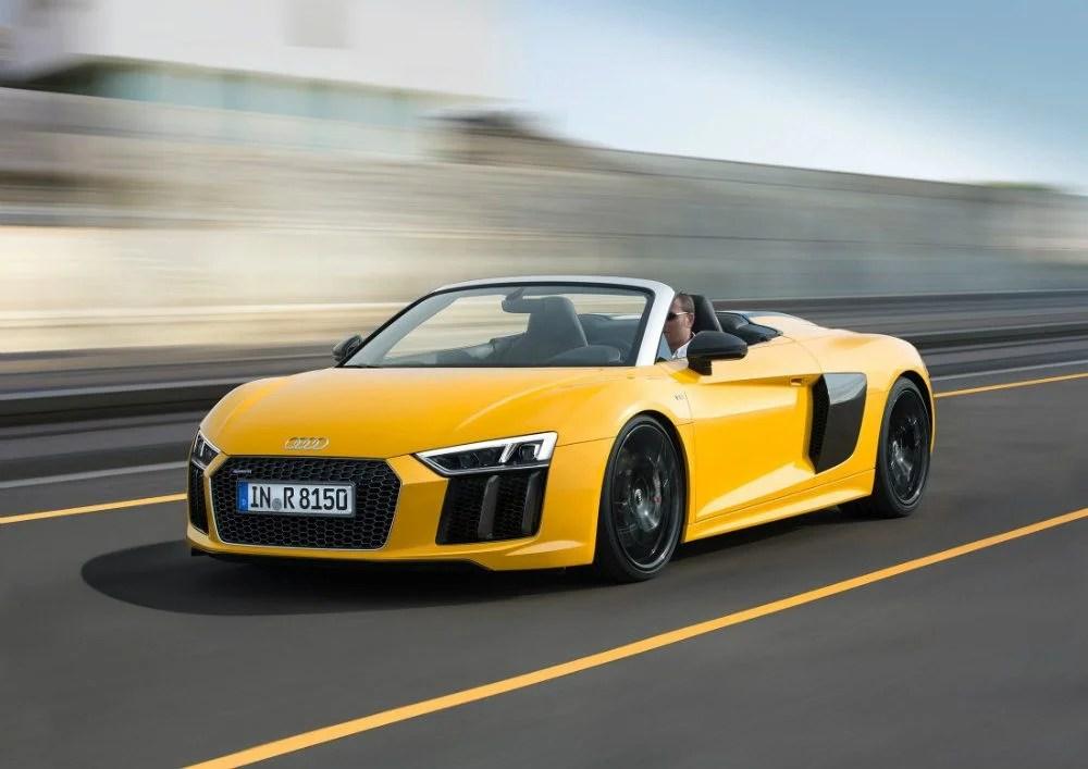 2017 Audi R8 V10 Spyder: Tony Stark, Your New Car Is Ready