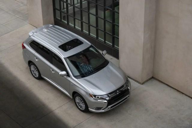 2021 Mitsubishi Outlander PHEV.