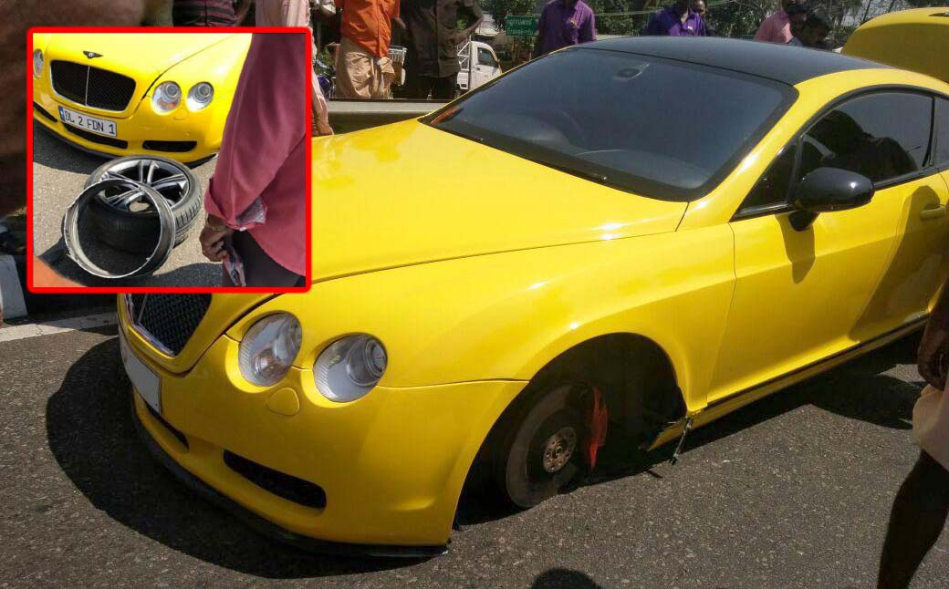 Beware Of The Fake Alloys! This Bentley Owner Just Learned A Lesson
