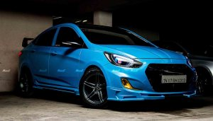 2018 Hyundai Verna Modified