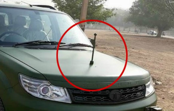 tata safari storme indian army