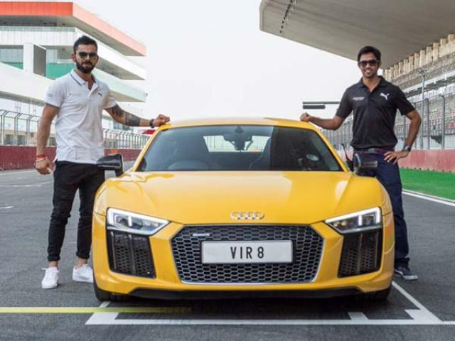 viral kohli audi rs v10 plus