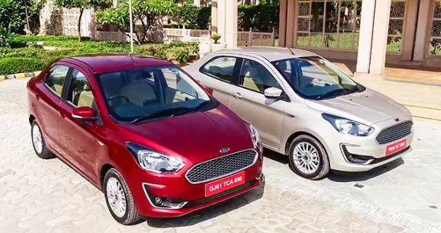 2018-2019 Ford Aspire Review Images buyer guide red silver