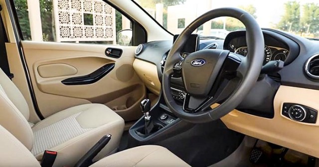 2018-2019 Ford Aspire Review Images buyers guide interior