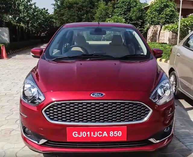 2018-2019 Ford Aspire Review Images buyers guide engine red color