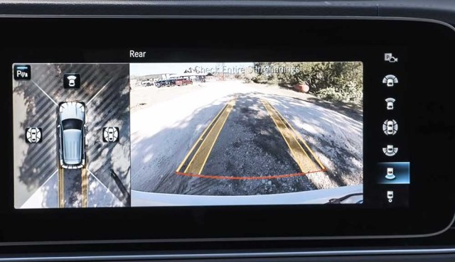 Mercedes Benz GLE 2019 rear view camera