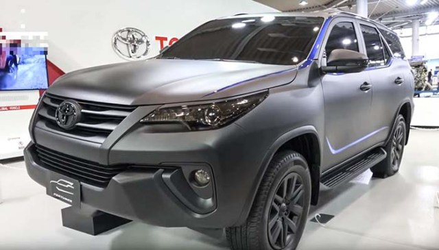Toyota fortuner modified 2018 batman