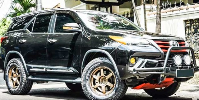 Toyota fortuner modified 2018 dragon