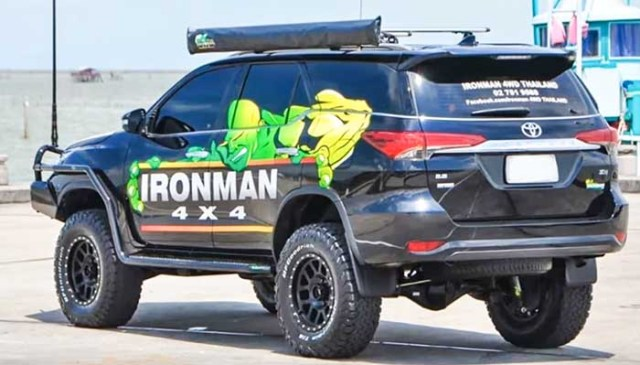 Toyota fortuner modified 2018 ironman