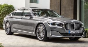 BMW 7 series 2019 front exterior side metallic