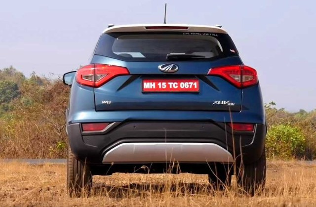 2019 Mahindra XUV 300 Review Exterior back rear