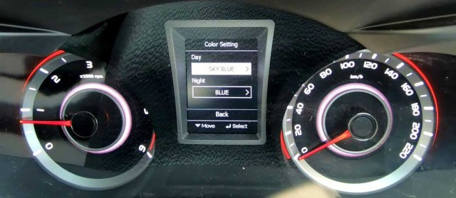 2019 Mahindra XUV 300 Review Speedometer