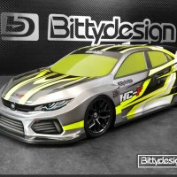 HC-F Carrozzeria per FWD 1/10 by Bittydesign